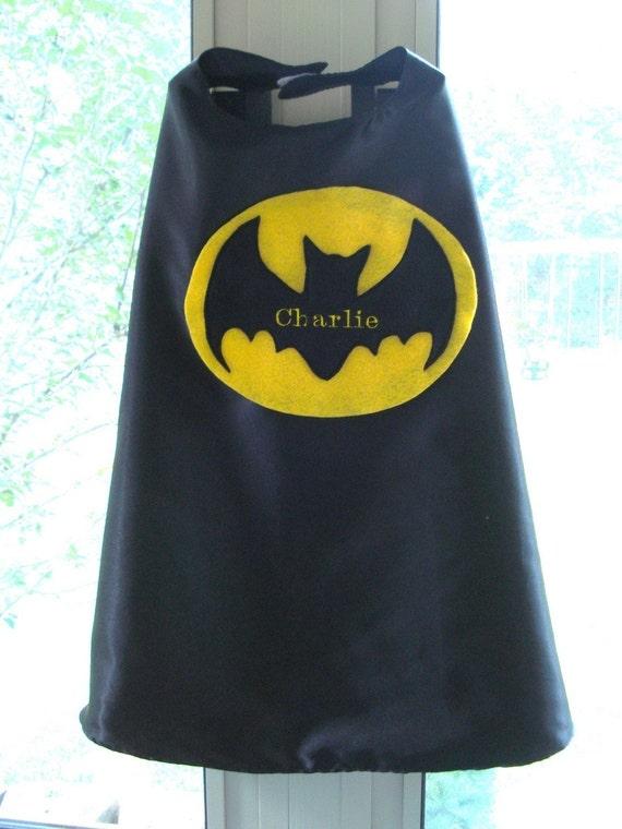Custom Embroidered Superhero Cape