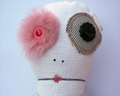 Handmade Upcycled Plush Doll - BETTY (RESERVED)