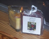 Red Wine Soy Candle, 6 oz Triangle Votive