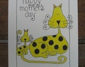 Whimsical Mother's Day Card