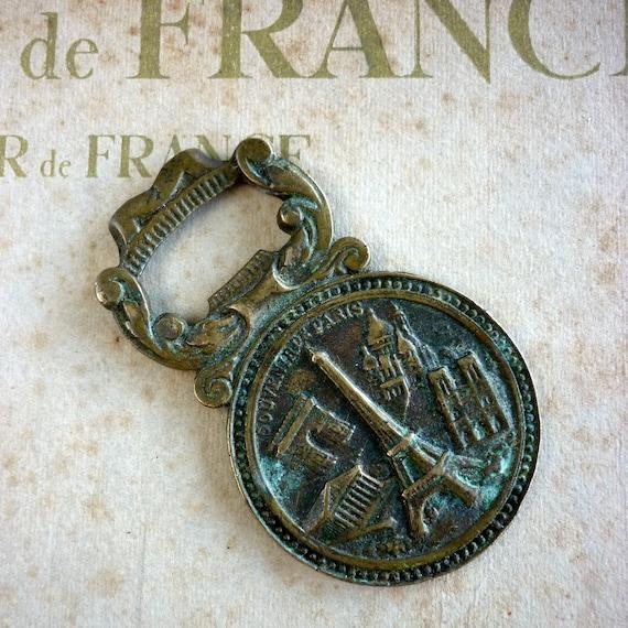 Souvenir de Paris Brass Bottle Opener
