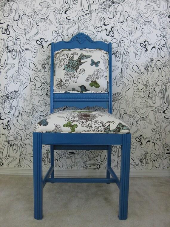 Blue Bird Thomas Paul Chair