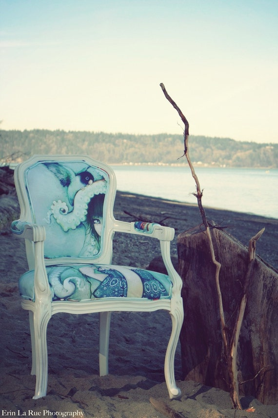 RESERVED for Lorri - Loveless Bird Chair - Camilla d'Errico collaboration