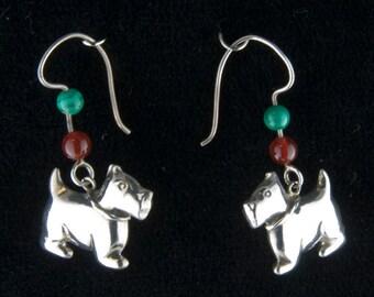 Christmas Doggies Earrings