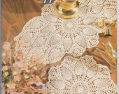 Crochet Patterns: Heirloom Pineapple Doilies Booklet 10 Patterns