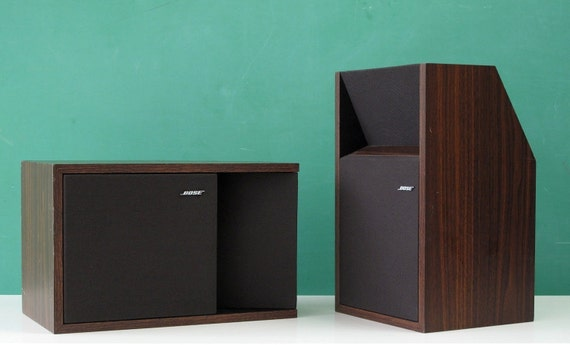 Bose 201 Series II  Direct/Reflecting Bookshelf Stereo Speakers, Faux Rosewood Finish