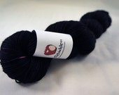 BFL Fingering Sock Yarn - Greed - Professor Plum