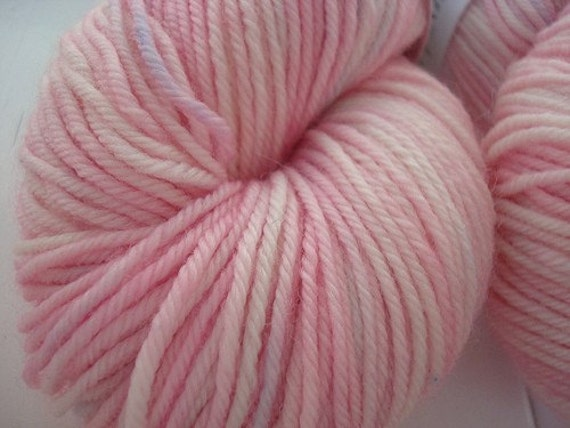 Indulge Sport - Hand-dyed Superwash Merino Yarn - Cherry Blossom Festival