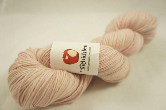 BFL Fingering Sock Yarn - Greed - Cherry Blossom Festival