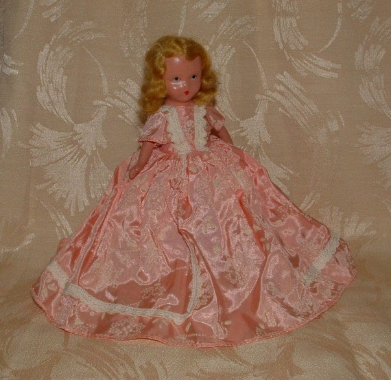Vintage Nancy Ann Bisque Storybook Doll - No. 189 - March Doll of the Month