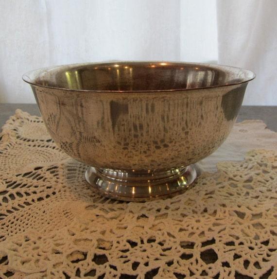 SALE Silverplate Bowl