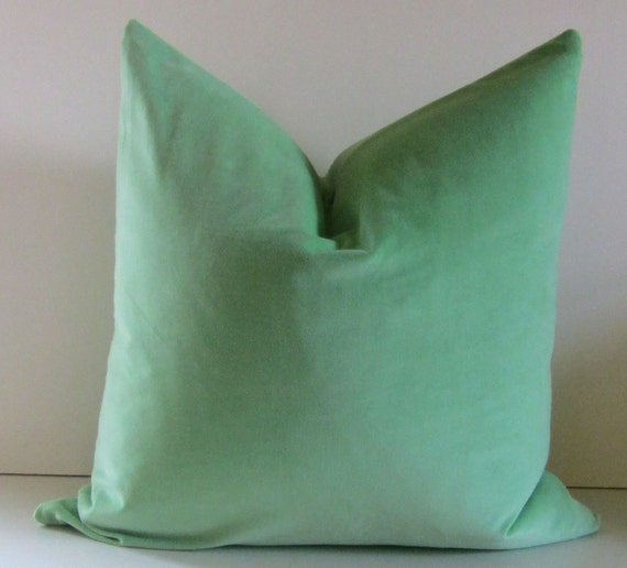 Decorative Pillow Cover 20 inch sherbert by STUDIOTULLIAPILLOWS
