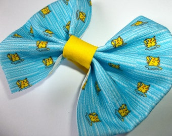 Surfing Pikachu Pokemon Hair Bow or bow tie