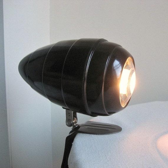 Bakelite Bullet Headboard Lamp By Eagle C 1950