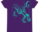 FTR Power Skate - Purple & Teal