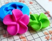 Open Flower Mold 21mm Silicone Flexible Mold Fondant Mold Gum Paste Cupcake Topper Cake Deco Polymer Clay Jewelry Mold Cabochon Resin MD689