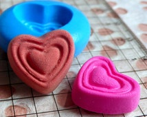 Heart Chocolate Mold 17mm Silicone Flexible Mold Kawaii Miniature Sweets Deco Fimo Polymer Clay Jewelry Cabochon Resin Mini Food Mold MD367