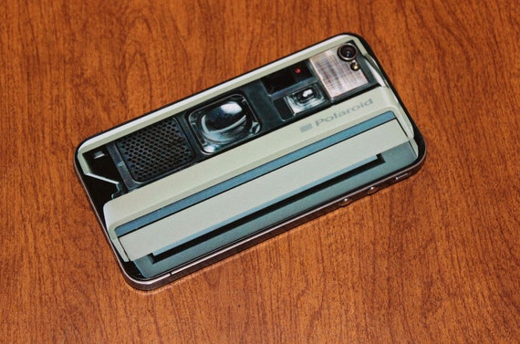 Iphone 4 Skin Polaroid