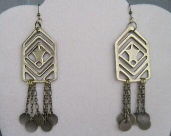 Military Inspired Earrings