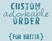 Custom Order for BRITTA