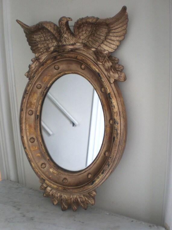 Federal BullsEye Eagle Mirror/ Large