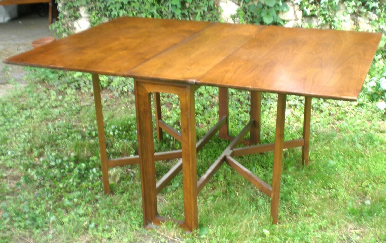 Sale Mid Century Modern Dining Drop Leaf Gateleg Table