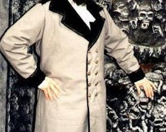 Nosferatu Vampyre Coat or Steampunk