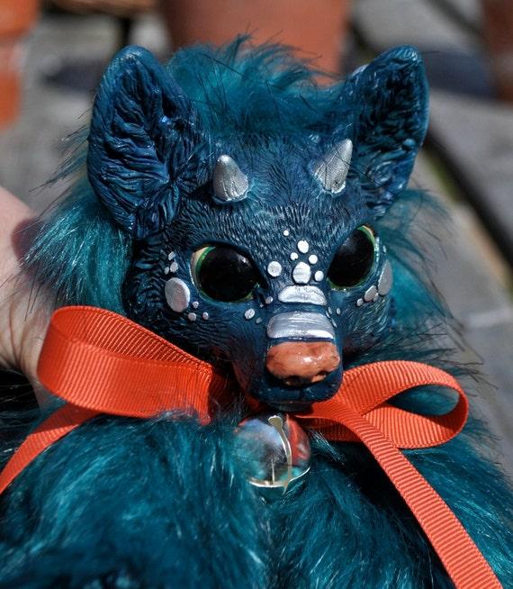 No. 5 - Soft Dragon Fox Plush - Fluffy, Squishy, Cuddly, Adorable