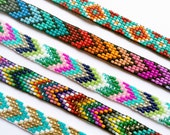 Handmade Beaded Friendship Bracelet - UnderThoseNeonLights