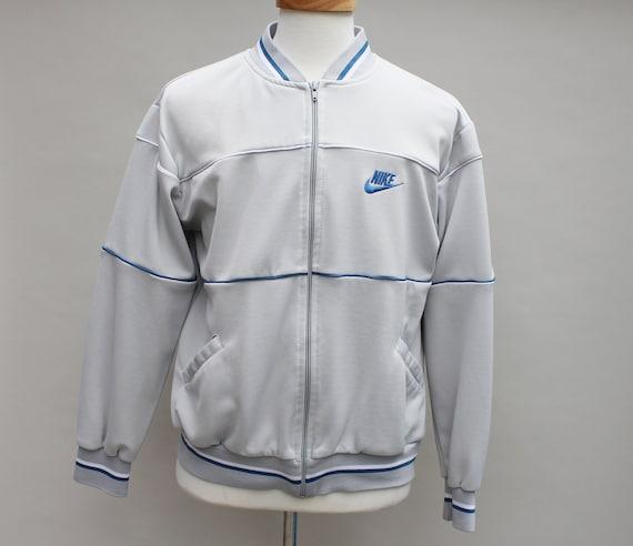 80s Vintage Nike Track Jacket - LARGE
