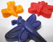 Upcycled Crayons, Flutter Bugs - Primary Swirl 3 Pack