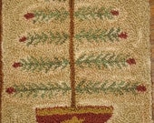 Old Feather Tree-Punch Needle Pattern