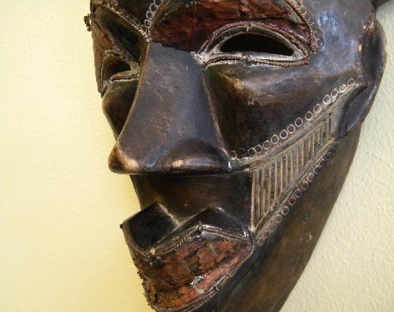 Tribal Mask from Congo Africa