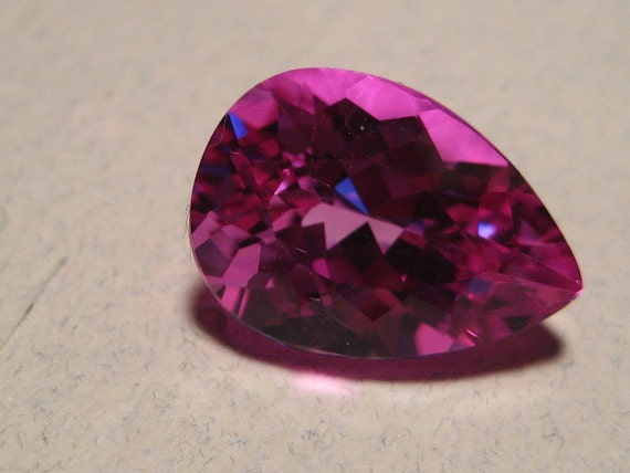 faceted pink topaz faceted gemstone 14 by