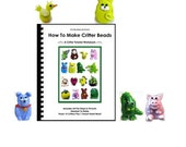 Huge PDF Critter Tutorial Workbook - 15 Lampwork Critters and 1 Heart