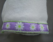 Daisy bamboo cotton terry towel (SECOND)