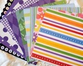 Playful Purple 6x6 Paper (Pack of 10)