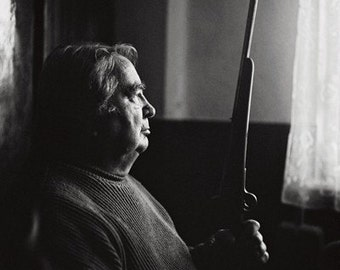 Martin Has A Gun- Fine Art Photography- Portrait- Slovakia