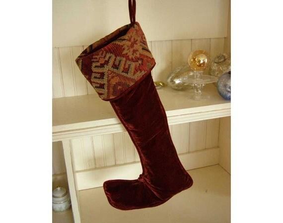 Christmas stockings for him as holiday home decor