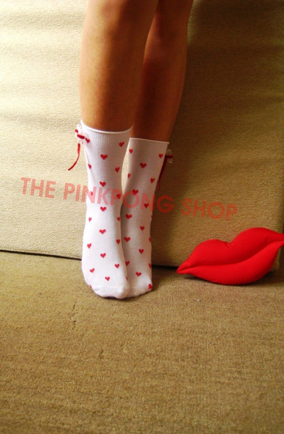 Lolita Socks - Gossip Girl - Queen of Hearts