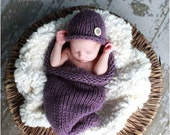 Baby Cocoon and Hat Photography Set for Baby, Other Color Choices Available