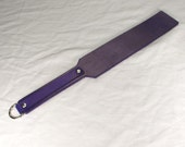 Leather Paddle - Variety Of Colours