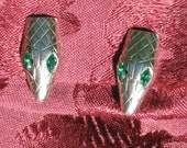 Snake Clip Ons 1960s NEW OLD STOCK..csc47