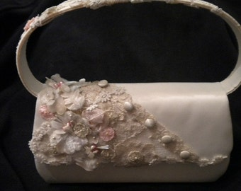 x Decorator Handbag with vintage Ribbonwork (FF406)