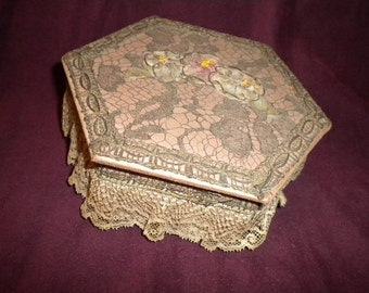 x Gorgeous Victorian Jewelry Box (FF298)