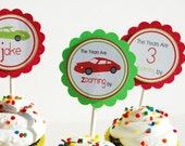 Cars that Zoom Printable Party Circles