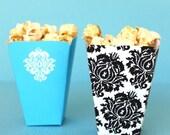 Damask DIY Printable Mini Snack Cups