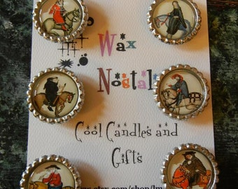 Chaucer's Canterbury Tales Magnets