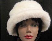 Winter White and Wonderful Faux Fur Hat