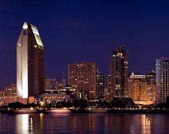 San Diego Skyline, Fine Art Photography, Panoramic Photo, Panoramic Art, Panoramic Photography, Panoramic Print